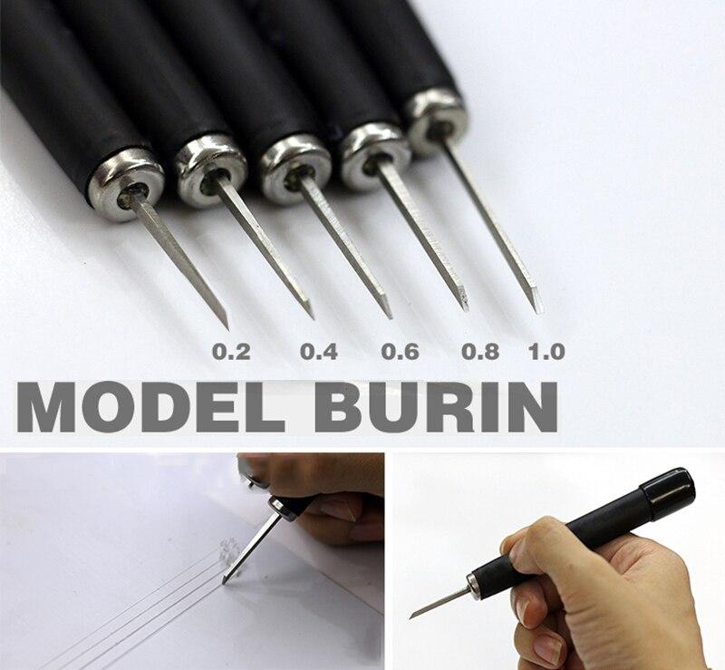 Model Transformation Tool Details Tungsten Steel Push Cutter 0.2/0.4/0.6/0.8/1.0mm