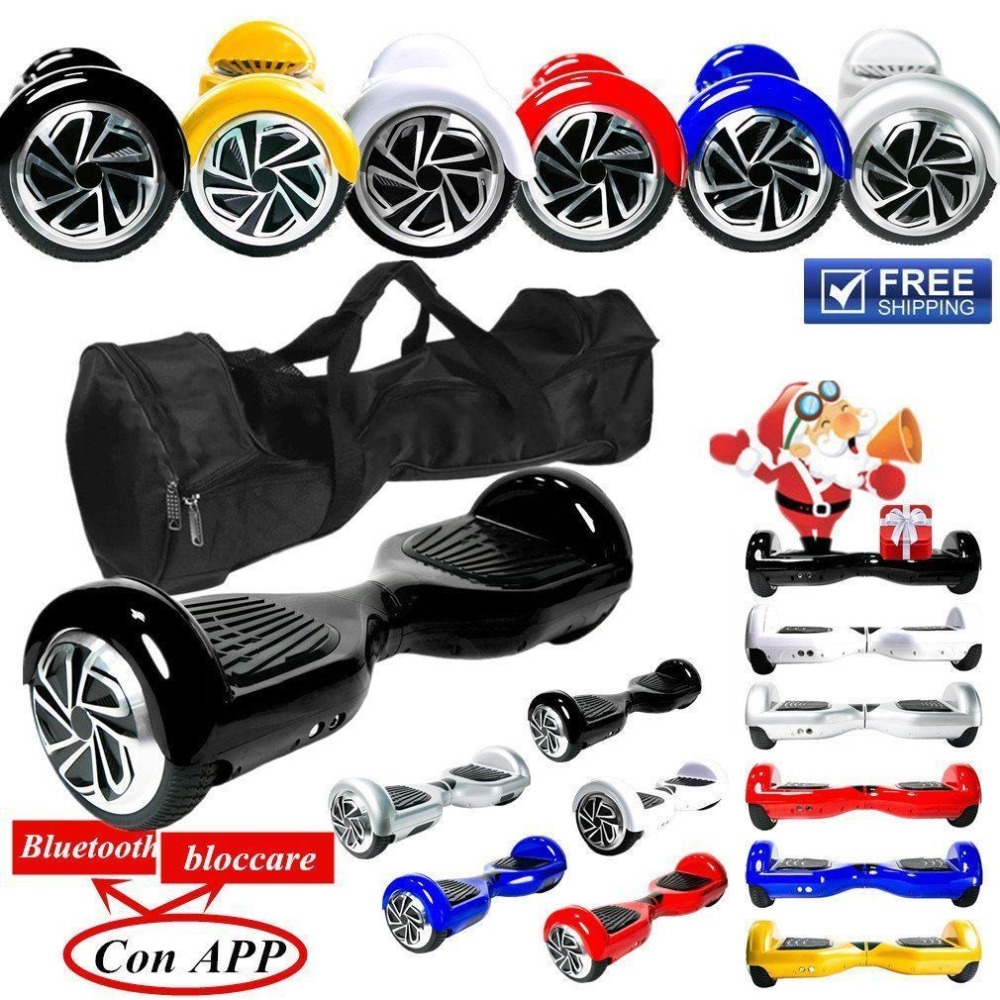 Hoverboard 6.5 Inch Skateboard 2 Wheels Smart Self Balance E-Scooter Hover Board With Carry Bag scooter parts hover board motherboard scooter mainboard for 6 5 8 10 inch 2 wheels smart balance electric skateboard giroskuter