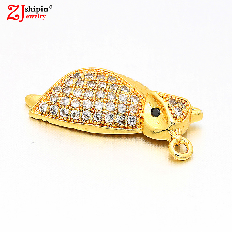 2018 Owl Cubic Zirconia CZ Zircon Necklace Pendant DIY Jewelry Accessories Bracelet Necklace Earrings Making