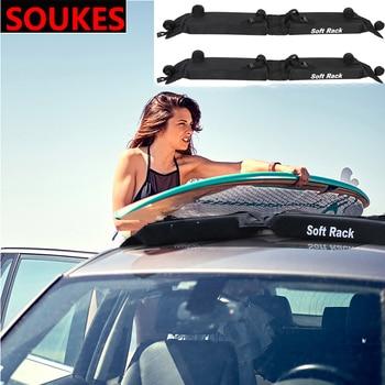 Soft General Car Roof Rack Transport large Goods For Jeep Renegade Volkswagen VW Passat B6 B8 B7 CC Polo Lada Granta Vesta