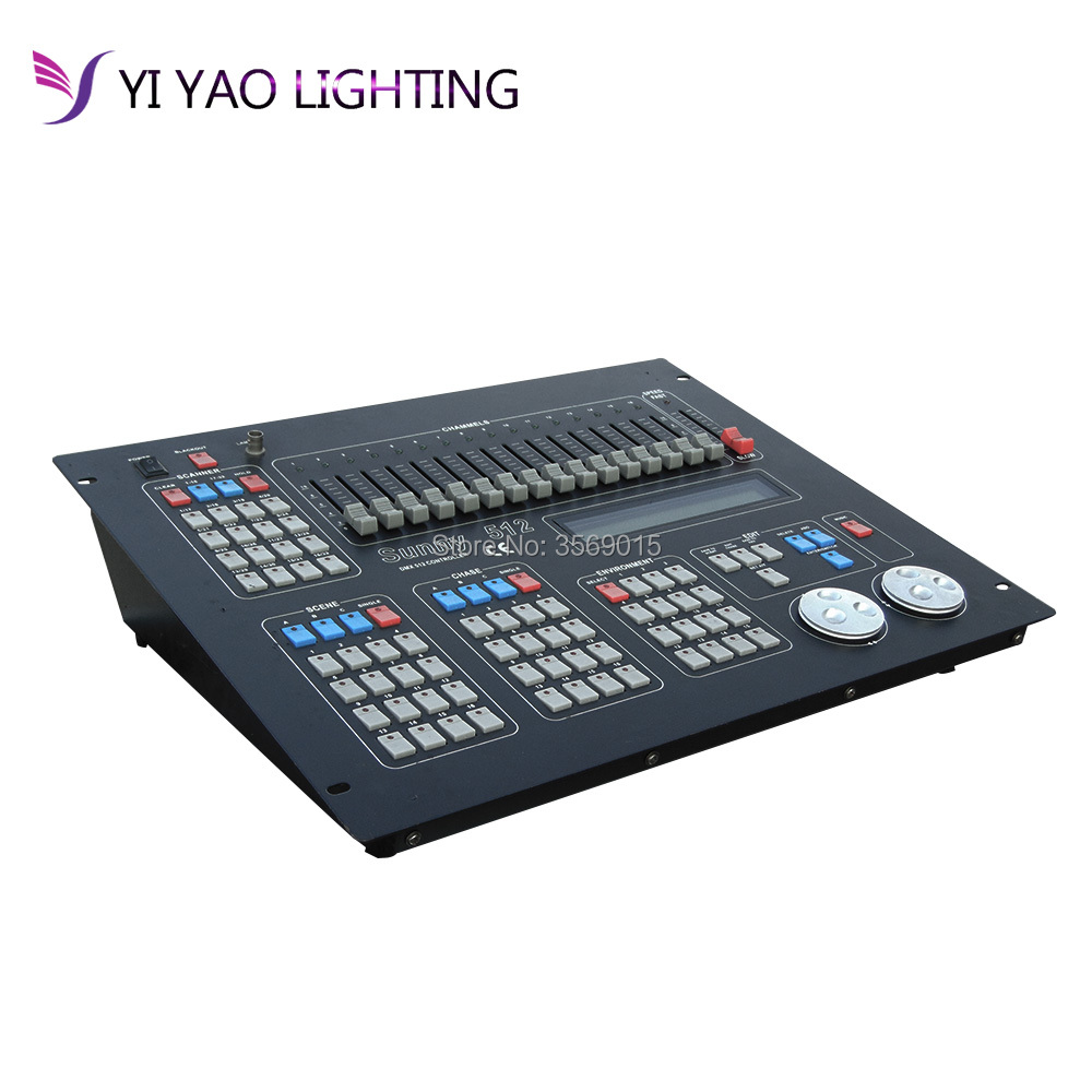1pcs DMX Console DMX 512 DJ equipment for Stage Lighting Wireless controller