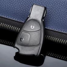 цены на 2 Buttons Auto Replacement Keyless Entry Car Remote Car Key Fob Shell Case Cover For MERCEDES-BENZ C E B S CLS CLK SLK ML CL в интернет-магазинах