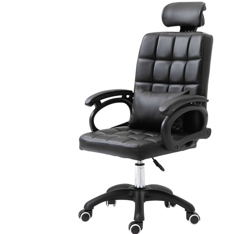 Free Eu Shipping Computer Household Concise Comfortable Office Game Boss Meeting Backrest Bow Chair Poltrona Esports Ergonomics