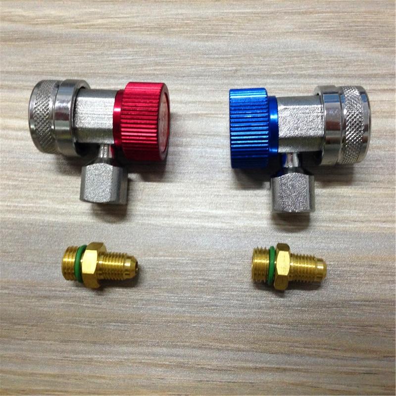 STARPAD raccords de connexion en fluorure | Raccords de climatisation réglables conversion de la bouche, raccord rapide réglable