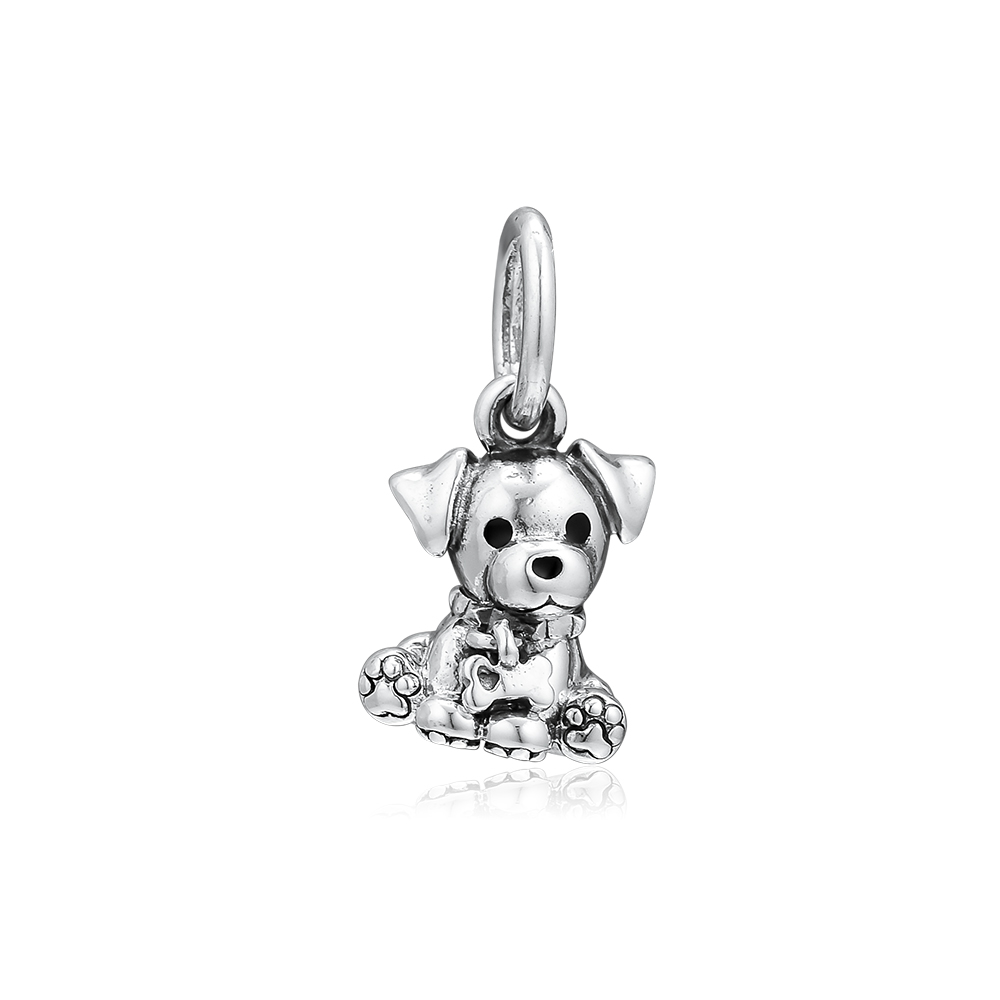 CKK Bead Charm Sterling Silver 925 Charms Jewelry Original Labrador Puppy Beads Fits Pandora Bracelet Jewelry Making