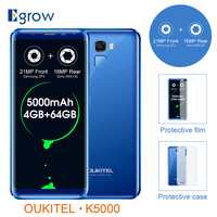 Oukitel K5000 5000mAh Smart Phone Android 7 0 18 9 HD Full Screen Mobile Phone 4
