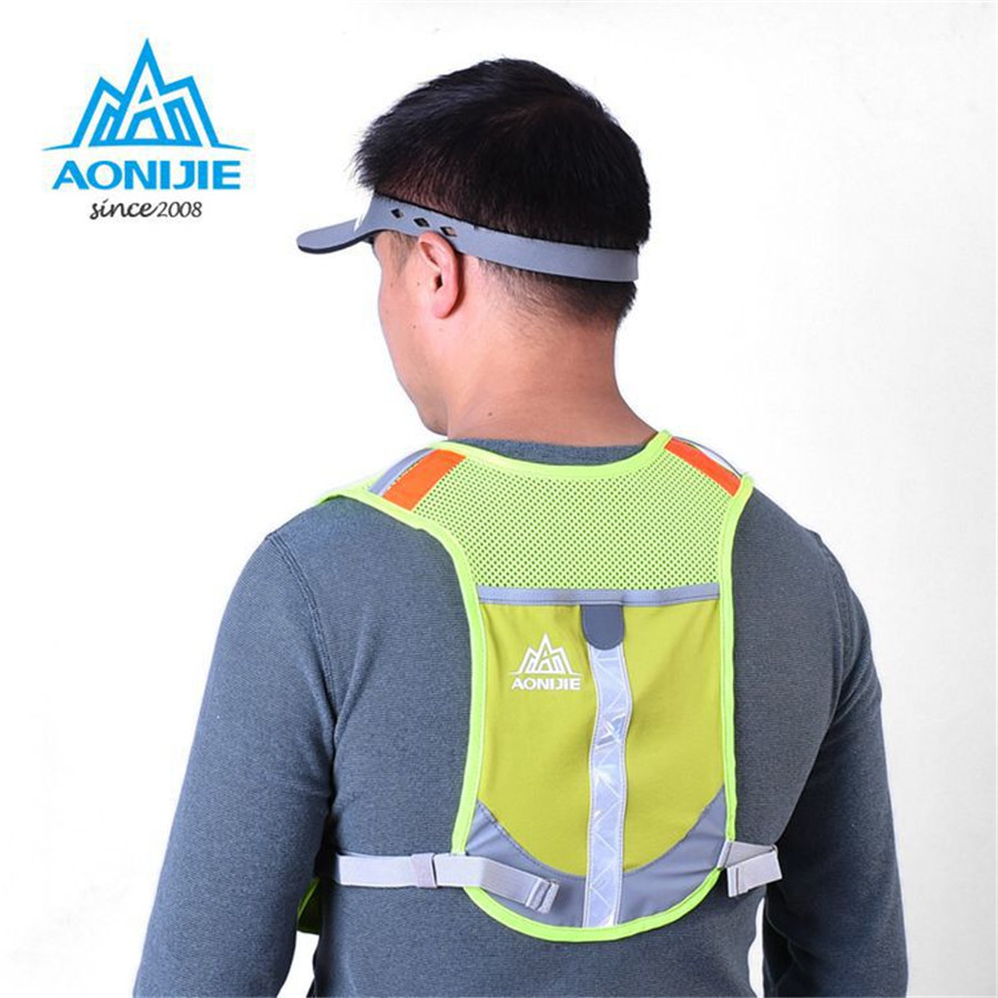 Promo Aonijie Hydration Backpack E884 Trail Marathon Running Blue Sports Hat Diving Fabric Rose Lightweight Outdoor Racing Fitness Bag Vest Pack