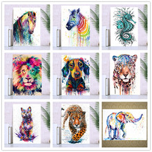 Diamond painted cross stitch/5D DIY full round diamond / animal painting embroidery mosaic home decoration