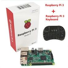 Buy online Raspberry Pi 3 Model B With Wifi & Bluetooth +i8 Mini 2.4G Wireless Mini Keyboard  For Orange Pi PC Android TV Raspberry Pi 3