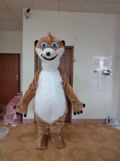 Adulte nouveau Costume de mascotte écureuil chaud dessin animé carnaval fête Halloween costume pour Halloween fête événement