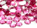6mm Lt.Rose Color SS30 crystal Resin rhinestones flatback,Free Shipping 10,000pcs/bag