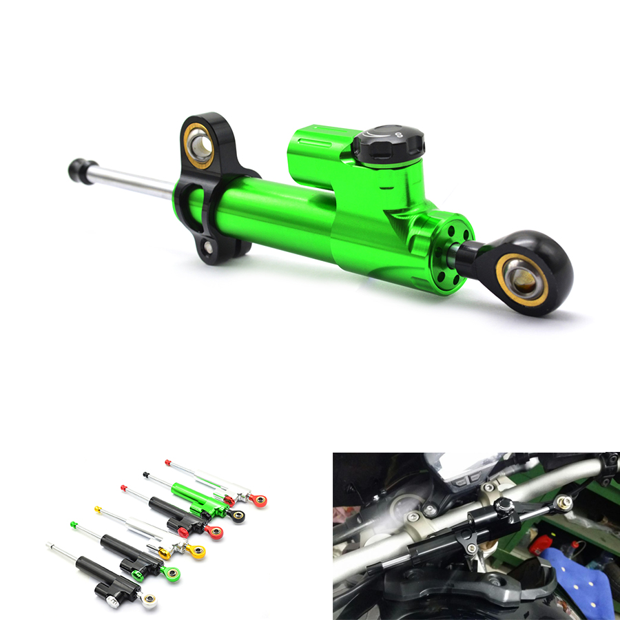 Universal Aluminum Motorcycle balance lever Steering Damper for Kawasaki NINJA EX250 08-12 2008 2009 Versys 650 14-16 2014 2015