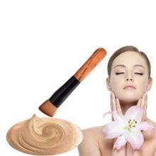 1 шт. макияж корректор румяна жидкая основа деревянная щетка комплект косметики(China (Mainland))
