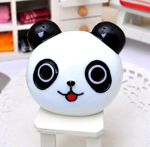 wholesale 2pcs big White panda head rabbit  flatback resin accessory DIY jewelry supplies for cell phone beauty[JCZL DIY Shop]