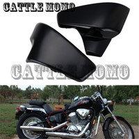 Motorcycle Battery Side Cover Abdeckung for Honda VT 600 Shadow VLX Deluxe Steed 400VLS Seitendeckel Batterie Side Faring Cover