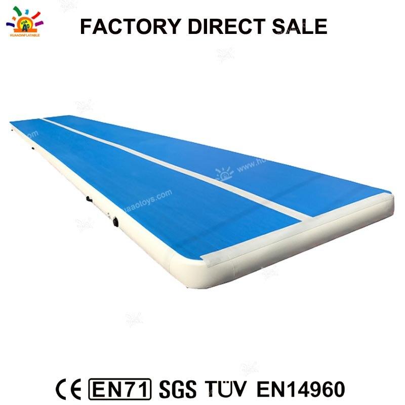 Livraison Gratuite Voie D'air Gonflable Équipement De Gymnastique de voie de Dégringolade, Fabricant de Tapis de Yoga Gonflable Tapis de Gymnastique