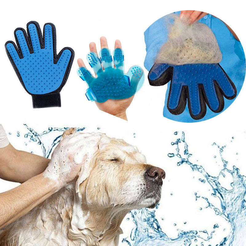 font b Pet b font Grooming Glove for Cats Brush Comb Cat Hackle font b