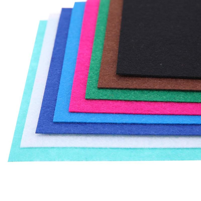 HTB1Y918a2fsK1RjSszgq6yXzpXaY 40pcs/set Non-Woven Felt Fabric Polyester Cloth Felt Fabric DIY Bundle for Sewing Doll Handmade Craft Thick Home Decor Colorful