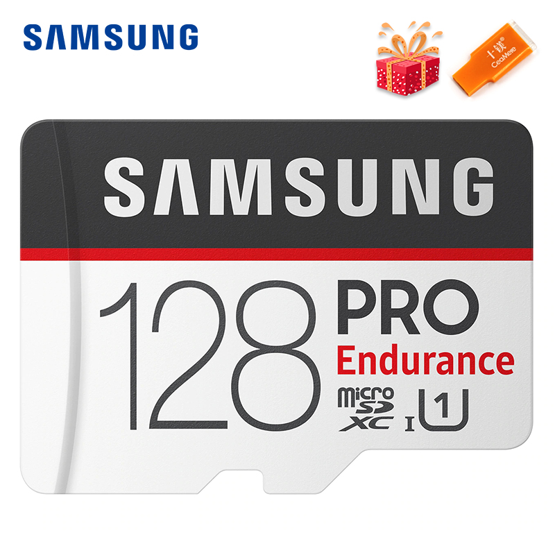 SAMSUNG PRO Endurance Memory Card 256G 128GB 64GB 32GB 100Mb/s Micro SD TF Flash Card 100% Original