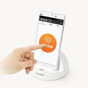 Image 4 - YouPin iHealth смарт измеритель артериального давления док станция система мониторинга телефона приложение для смартфонов Bluetooth Vers сфигмоманометр
