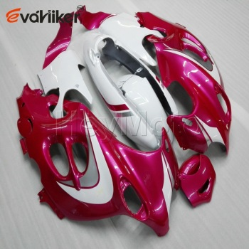 Custom motorcycle fairings for GSX600F 2003 2004 2005 2006 Katana 03 06+Unpainted fairing+5Gifts+pink white ABS H3