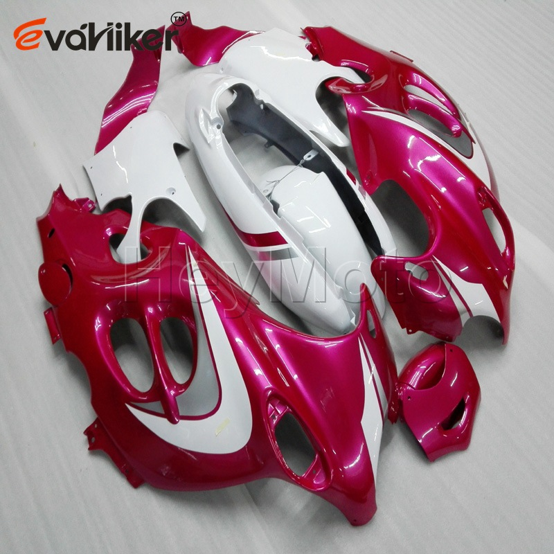Custom motorcycle <font><b>fairings</b></font> for <font><b>GSX600F</b></font> 2003 2004 2005 2006 Katana 03 06+Unpainted <font><b>fairing</b></font>+5Gifts+pink white ABS H3 image