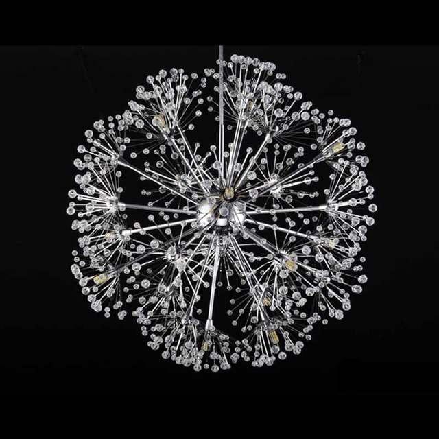 Online shop modern dandelion led crystal ball pendant light dining modern dandelion led crystal ball pendant light dining room restaurant design lamp home decor chrome fixture g4 bulb 110 220v audiocablefo