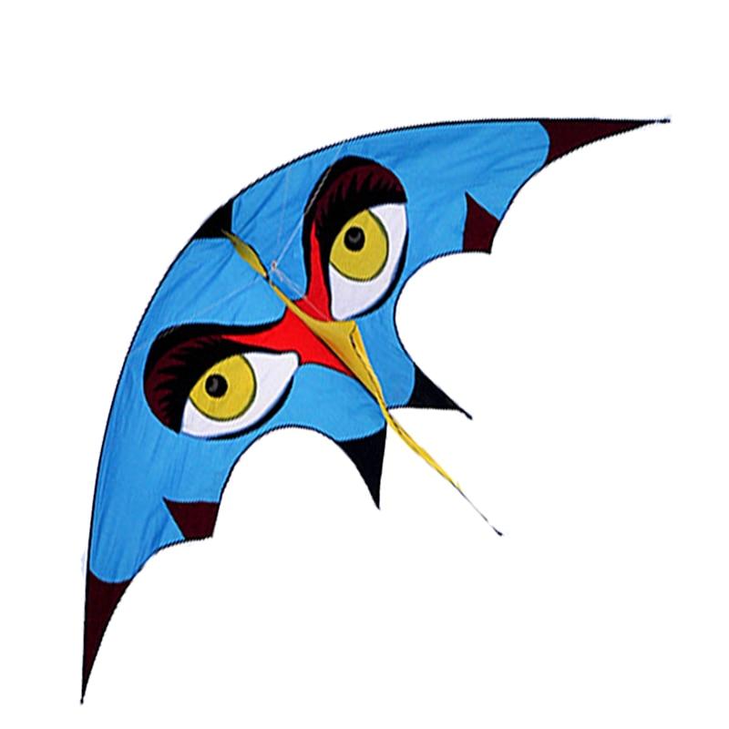Nouvelle arrivée de haute qualité 116 pouces énorme bleu spécial cerf-volant avec poignée ligne oiseau cerf-volant facile à voler