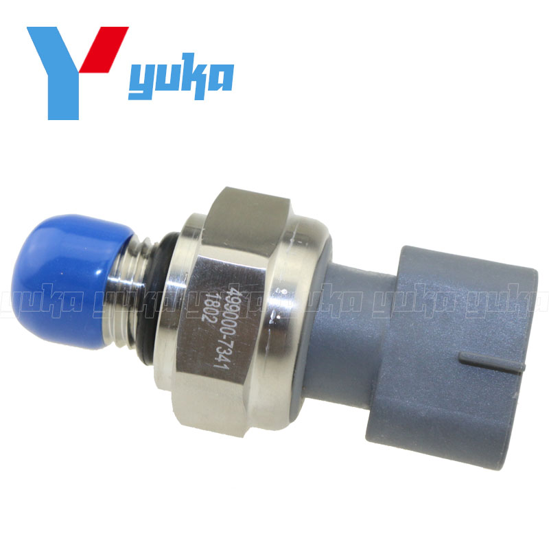 Oil Pressure Sensor Switch For Hitachi Excavator ZX330-3 Engine For Isuzu 4HK1 6HK1 8-98027456-0 499000-7341 4990007341 new water pump for hitachi excavator ex120 2 for isuzu engine 4bd1