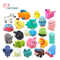 Baby Bath Toys 20pcs Soft Rubber Duck Animals Car Boat Kids Water Toys Squeeze Sound Spraying Beach Bathroom Toys For Children