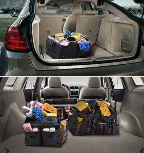 Image 3 - Car Back Seat Organizer Multi use Holder Storage Bag Universal Foldable Stowing Tidying Car styling Interior Accessories Trunk