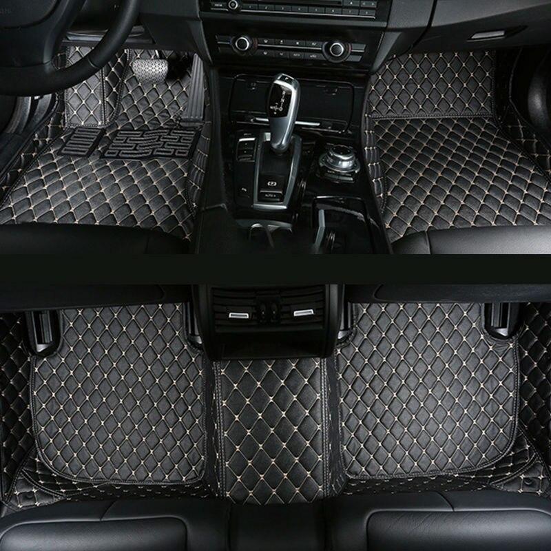 Tapis de sol de voiture pour BMW série 1 F20 114i 116i 118i 120i 125i 128i 130i 135i cuir tapis de voiture