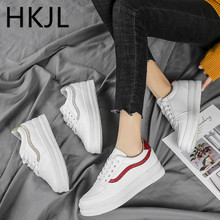 HKJL Little white shoes women 2019 spring new all-in-one Korean version of single shoe casual womens sneakers A640