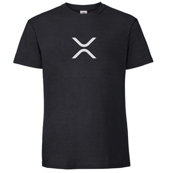 2019 Hot Sale New Men'S T Shirt New Fashion Men'S T Shirt Xrp (Ripple) New Logo Symbol Xrp Community Crypto Custom T Shirts
