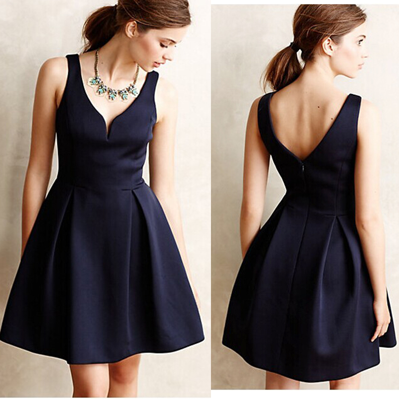 Elegant Black Cocktail Dresses - Ocodea.com