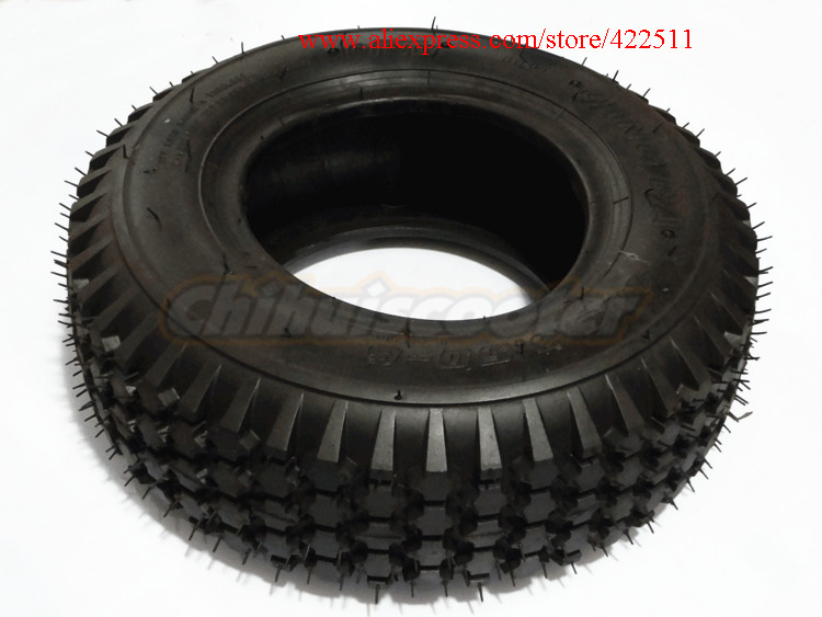 Scooter Tires 6 Lawn Mower/snow&mud Tyre 4.10/3.50-6 Qingda Brand Tyre For 6*3.25 Wheel Rim Sports & Entertainment scooter Parts & Accessories