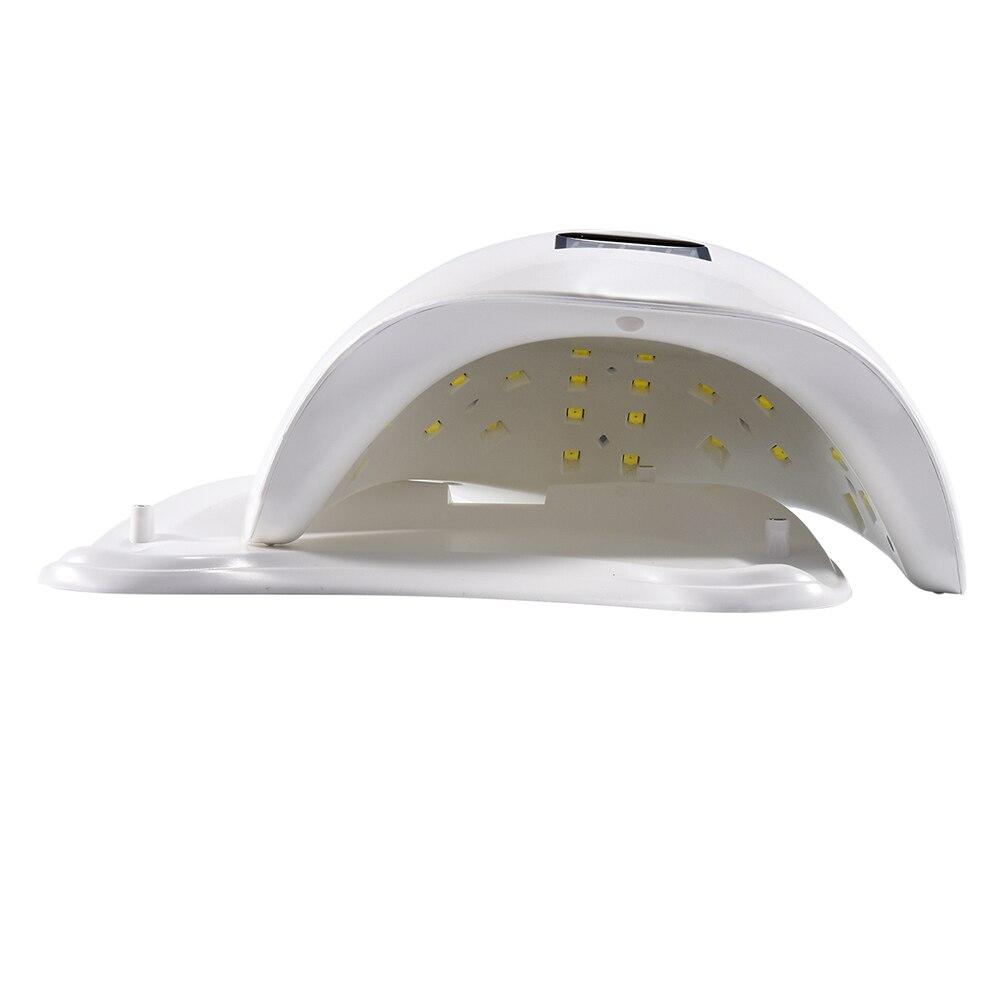 УФ-светодиодный SUN5X Сушилка для ногтей 48 Вт профессиональный светодиодный лампы для ногтей с ЖК-дисплей дисплей польской машины для лечения...