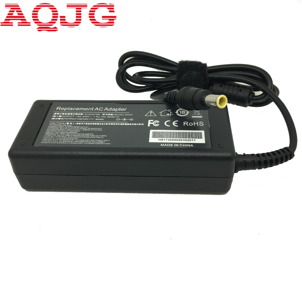 AC 100-240V DC 14V 3A 42W 6.5x4.4mm Power Adapter Supply 14V 3A  2.14A 1.43A 1.79A For Samsung Laptop Note Display Computer New