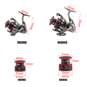 Image 3 - SHIMANO STRADIC CI4 1000HG 2500HG C3000HG 4000XG Spinning Fishing Reel 6 + 1BBความเร็วสูงX เรือMGLโรเตอร์น้ำเค็มTackle