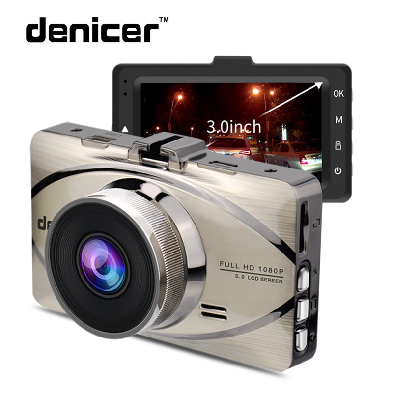 Видеорегистраторы для автомобилей Авто-камеры регистраторы вождения видео Регистраторы 1080 P HD Камера 170 градусов Широкий формат объектив 3 дюйм(ов) Экран Ночное видение