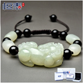 of opening and Hetian jade bracelet brave couple red rope hand on year of fate for male and female holiday gift jewelry