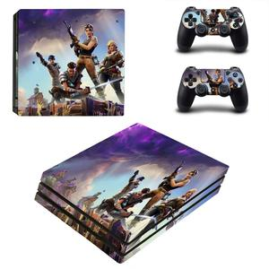 Image 4 - PS4 Pro Skin Sticker Decal Vinyl Voor Sony Playstation 4 Console En 2 Controllers PS4 Pro Skin Sticker