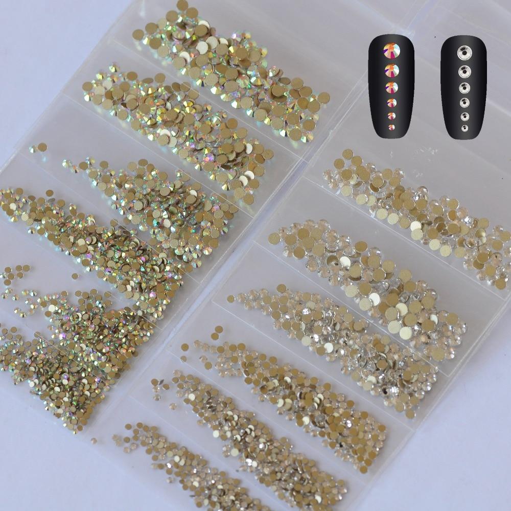 Кристалды ABS металдан жасалған - Маникюр - фото 2
