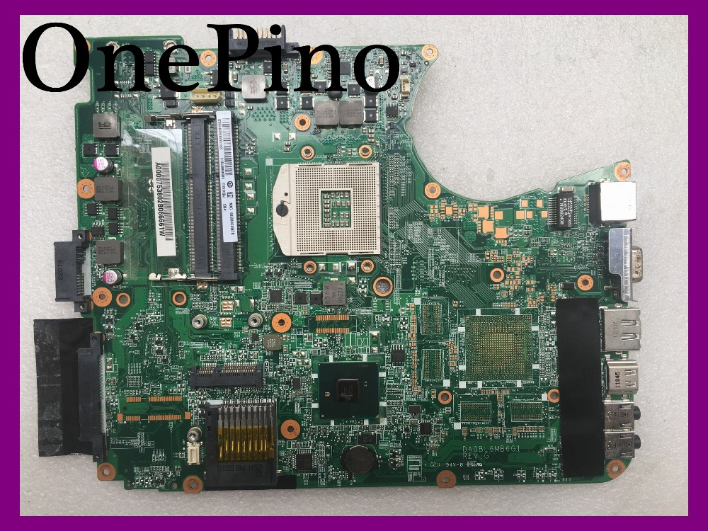 Apto para toshiba satellite L655 A000075380 L650 motherboard HM55 DDR3 DA0BL6MB6G1 testado trabalho