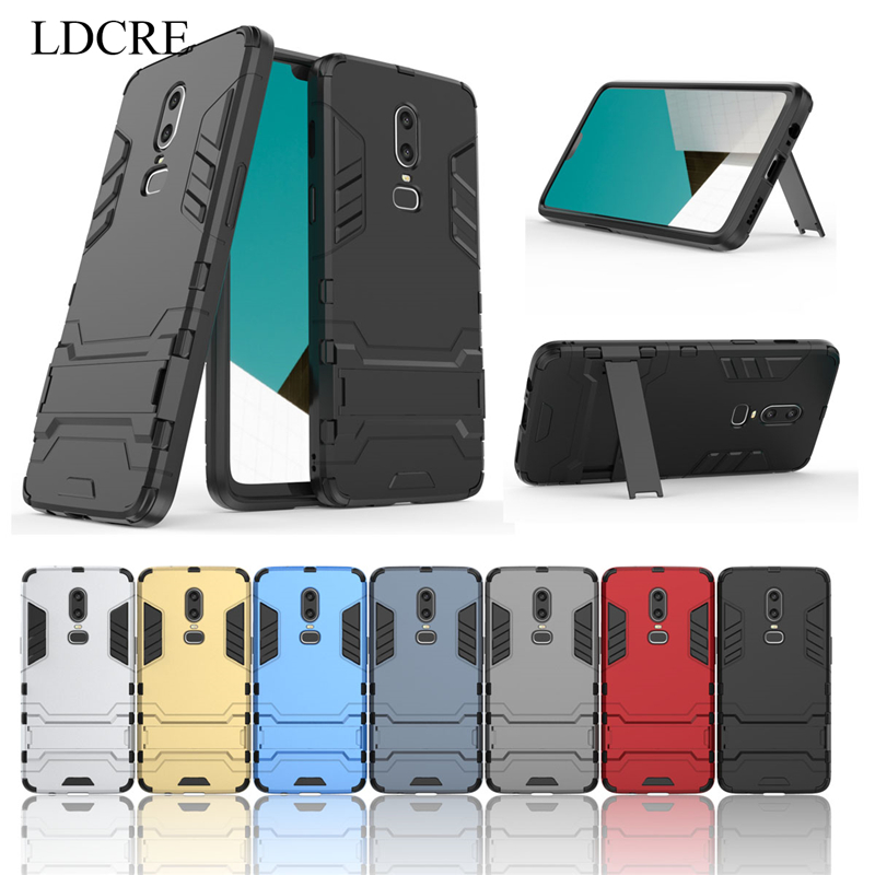 For Oneplus 6 Phone Coque Case ,LDCRE Hard Back Rubber Phone Cover Case for Oneplus 6 Case Cover For Oneplus 6