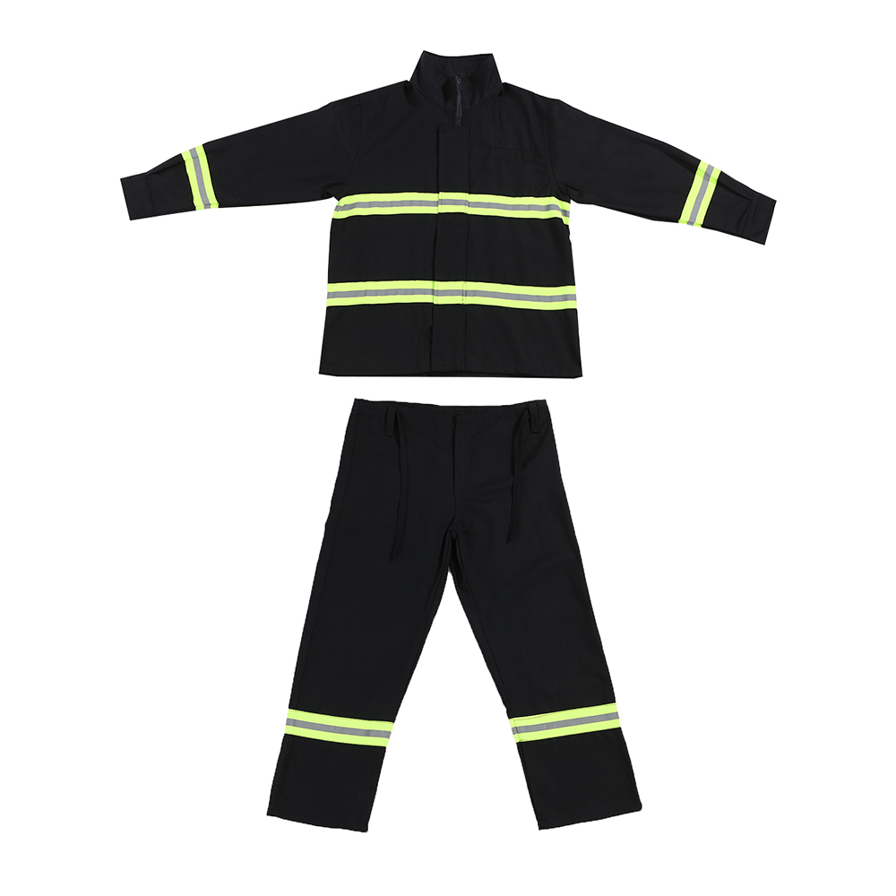 Fire Fighting Suit Fireproof Waterproof Flame retardant with reflective strap Comfortable fabric Protective Clothes