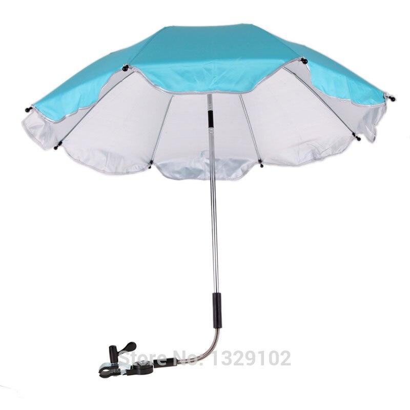 Strollers Accessories Baby Buggy Pram Sunshade Umbrella Bicycle Bike Stroller Chair Umbrella Bar Holder Mount Stand Stroller Accessories Bebek Arabasi