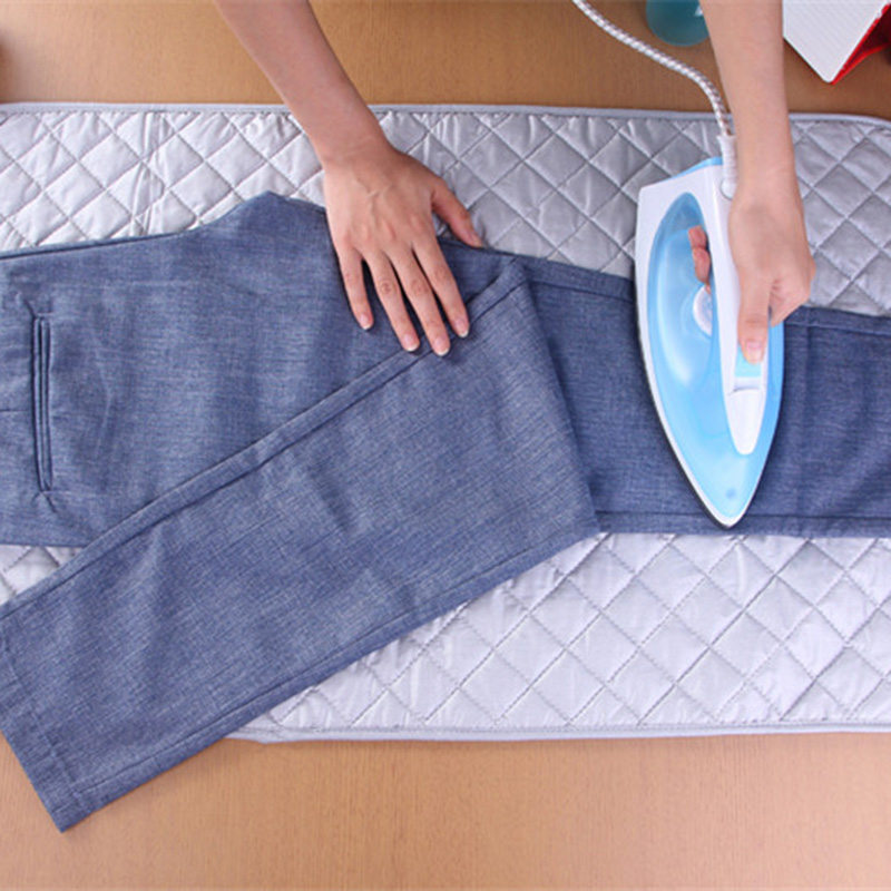 Portable Folding Household Ironing Pads Clothes Ironing Board Cover Mat Travel Replacement Ironing Pad