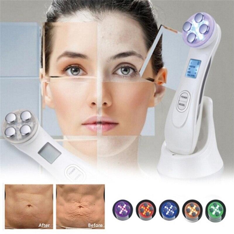 LED photon thérapie acné Laser stylo beauté soins de la peau du visage resserrement des pores rétrécissement anti-rides Instrument de beauté