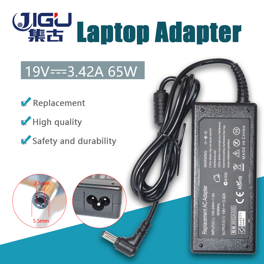 65W 19V 3.42A Laptop Power Supply AC Adapter Charger for Acer Toshiba Gateway